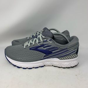 Brooks Adrenaline GTS 19 Mens Shoe Grey/Blue/Ebony